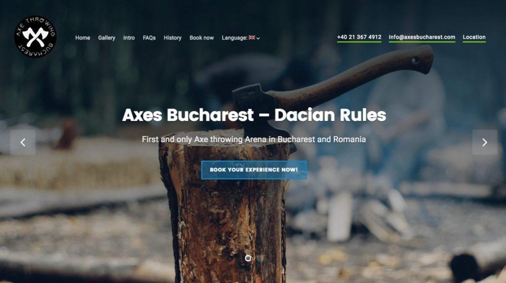 Axes Bucharest