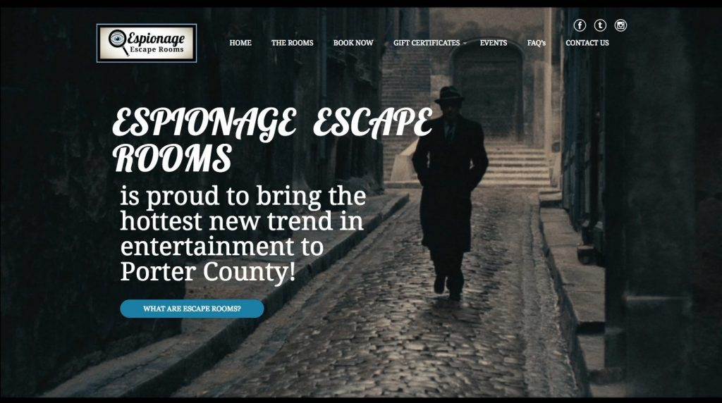 Espionage Escape Rooms