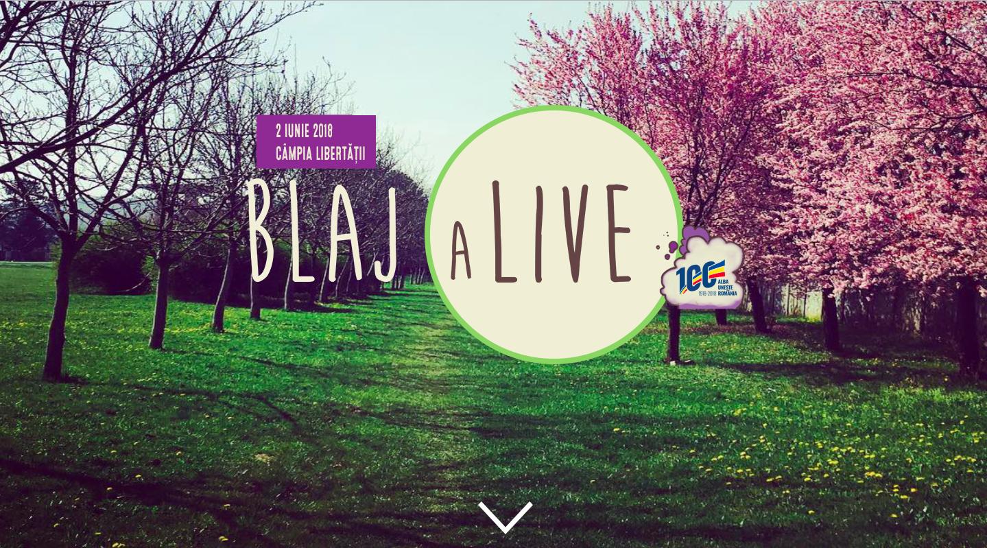 Blaj aLive Festival 2018